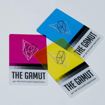 Matte Transparent Business Cards